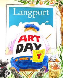 Langport Art Day Somerset