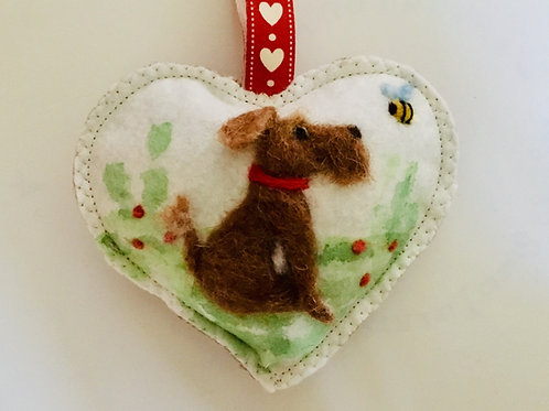 Pet Portrait - Your own pet ~ personalised gift heart, personalized gift