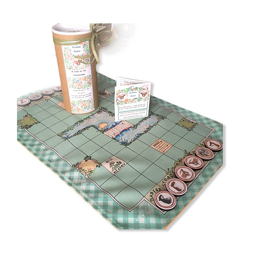 Running Hares, countryside themed family game for two players