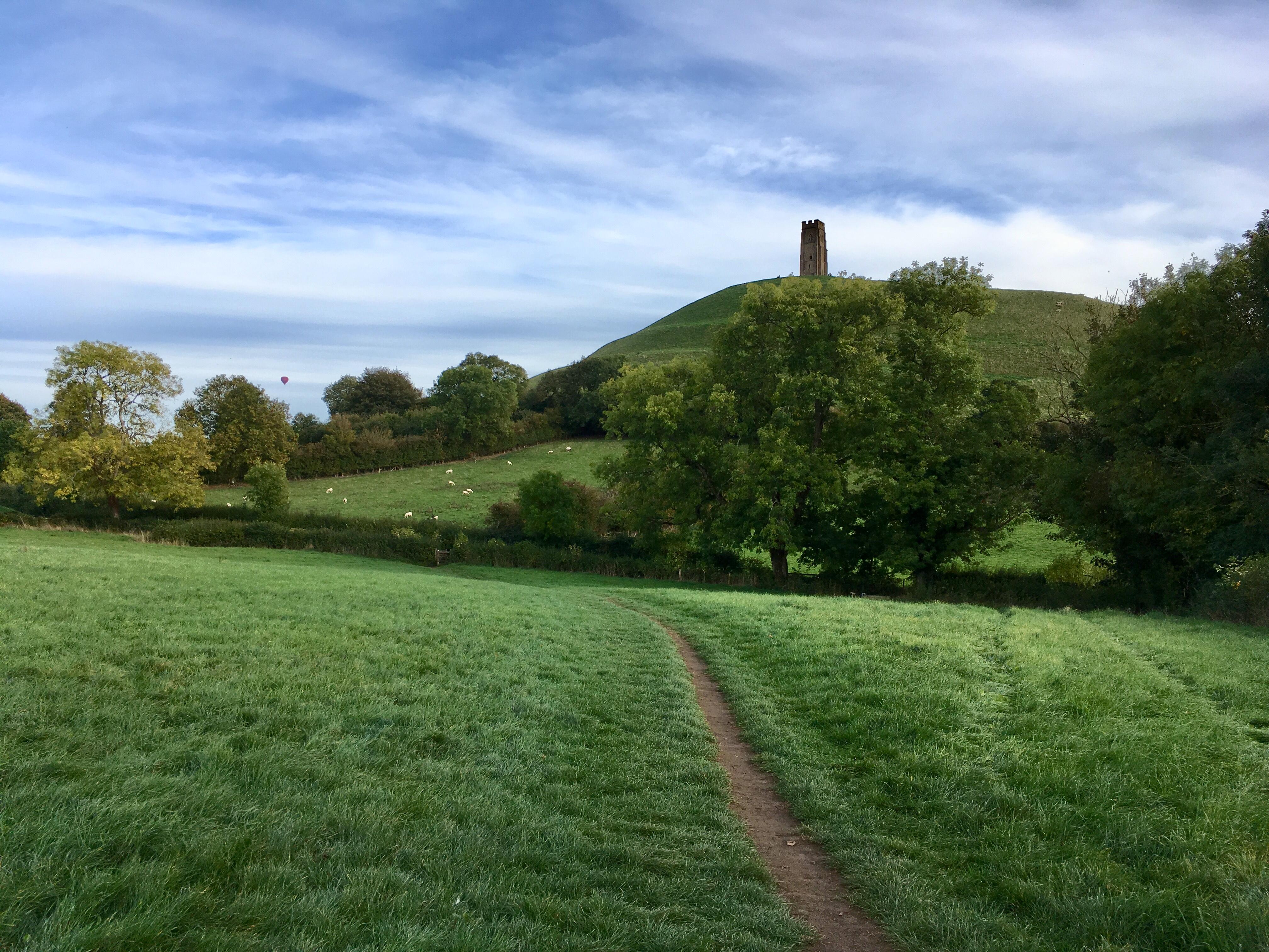 Glastonbury Tor inspiring for local hist