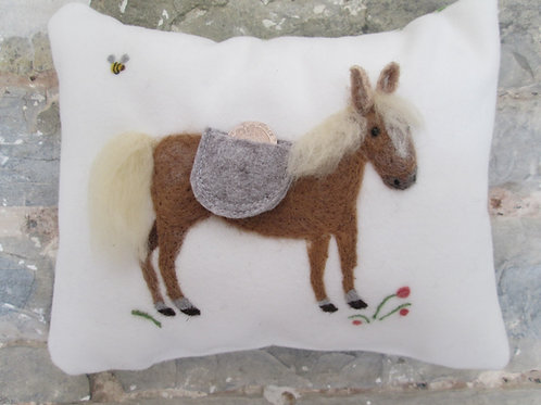 Tooth Fairy Pillow  horse