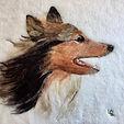 It is often windy on the moor #dogportra