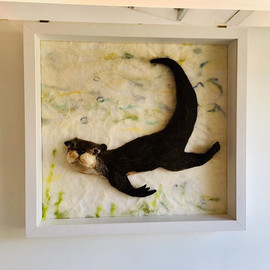 Otter up in the gallery at last! #avalon