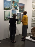 Seattle Art Fair Studio 103 Booth Photo