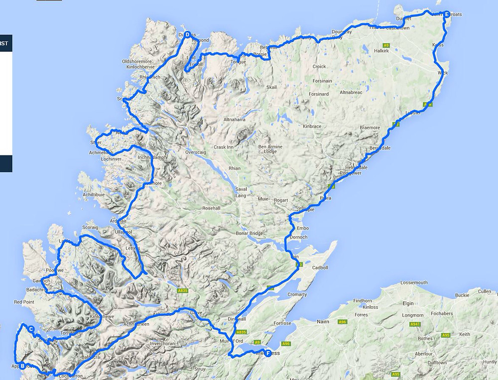 NC500 - the established busy route