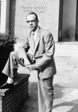 Robinson as a member of the Howard University School of Law faculty.
