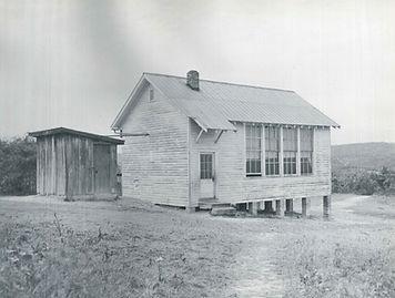Granite Elementary School, Pulaski County, Virginia, about 1948.