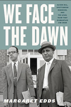 We Face the Dawn by Margaret Edds book cover