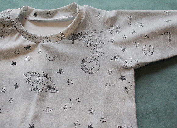 Sweater - Grey Space