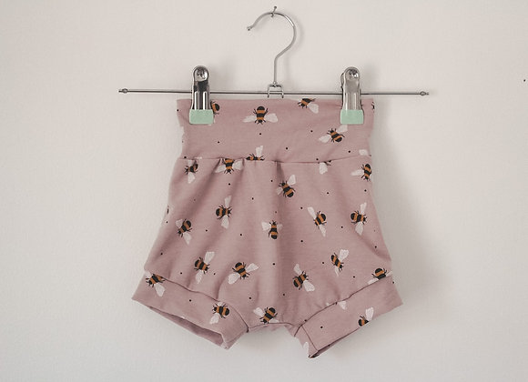 Bummie Shorts - Bumble Bee with Yoga Waist