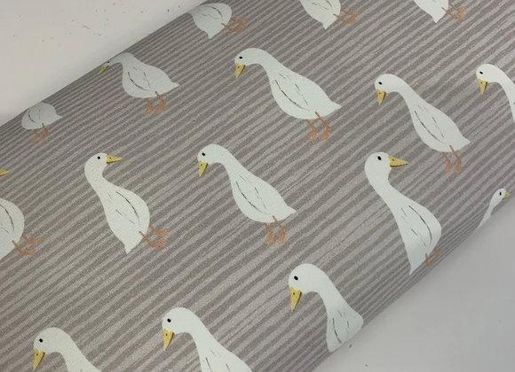 White ducks - T-shirt Dress