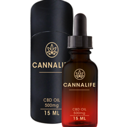 Cannalife CBD Oil 500MG THC Free