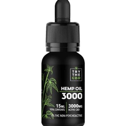 Try the CBD Hemp Oil 3000MG THC Free