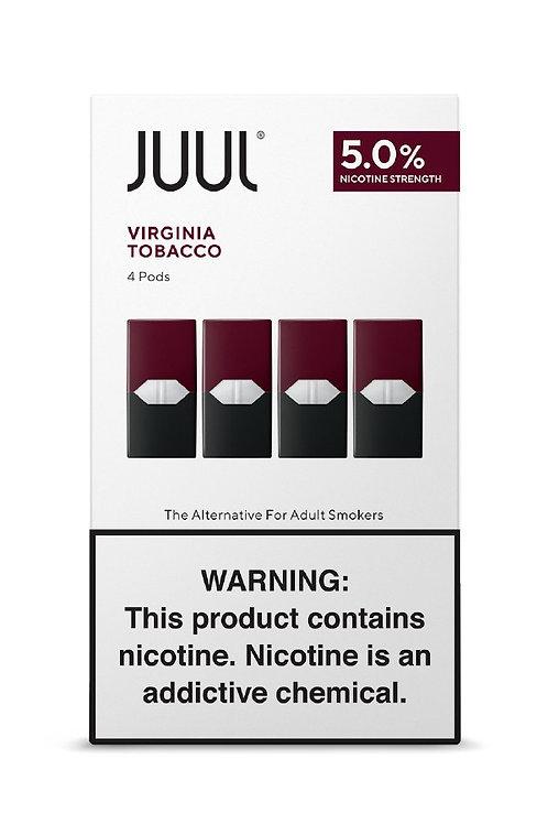 JUUL Pods Virginia Tobacco 5% (4 Pack)