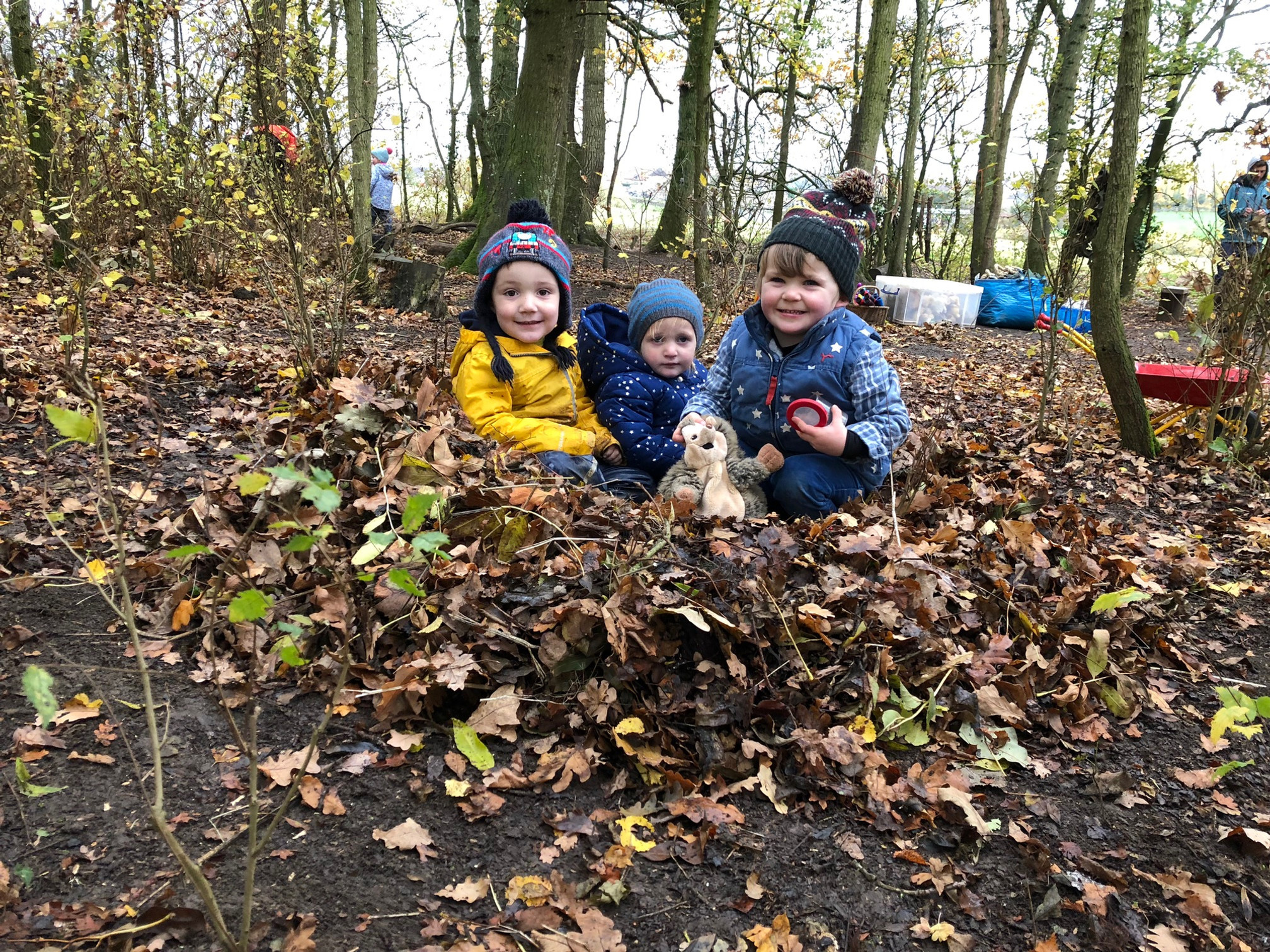 Wildwoods Wednesday Toddlers autumn term