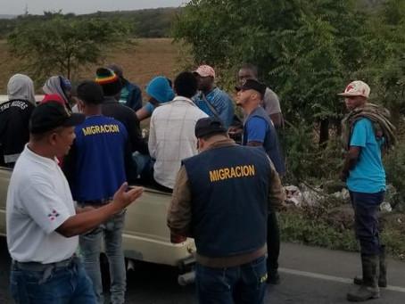 Arrestan 1,263 extranjeros que residían de manera ilegal en el país en las últimas 48 horas