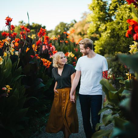 Paar Shooting beim Berggarten in Hannover