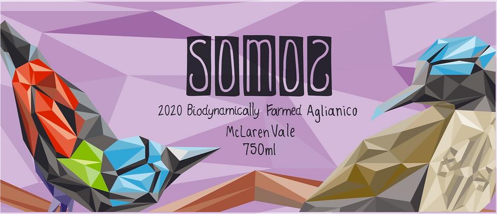 2020 Somos Biodynamic Aglianico