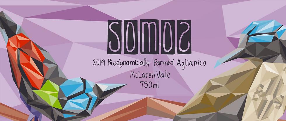 2019 Somos Biodynamic Aglianico