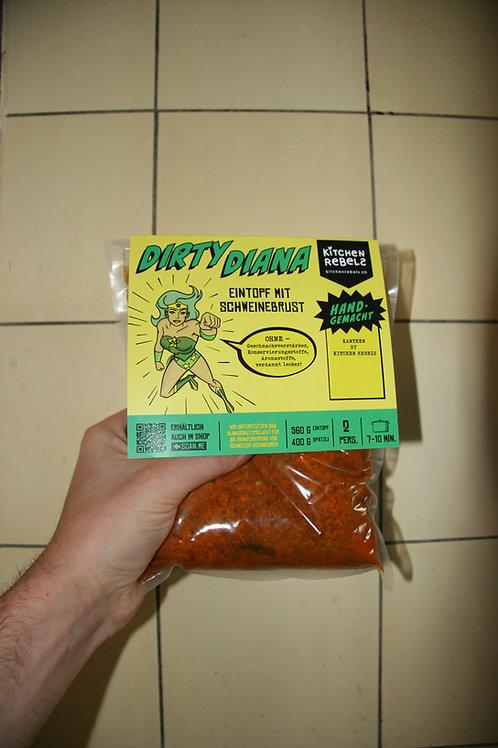 «DIRTY-DIANA» Eintopf mit Fleisch & Spätzli (2 Portionen)