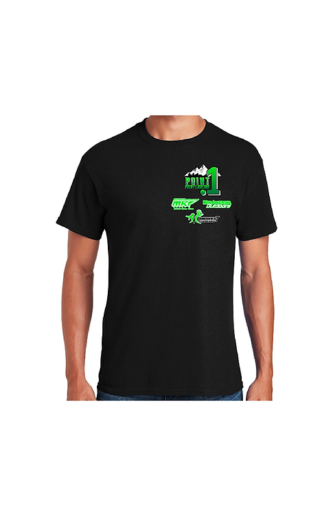 Point1 Black T-Shirt
