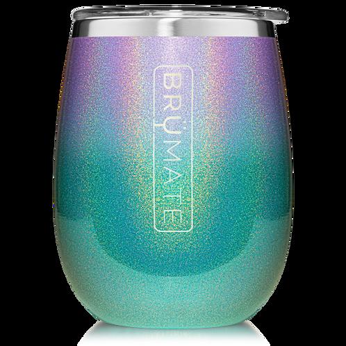 Glitter Mermaid - Uncork'd Wine Tumbler