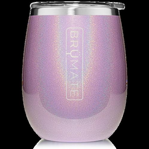 Glitter Violet - Uncork'd Wine Tumbler