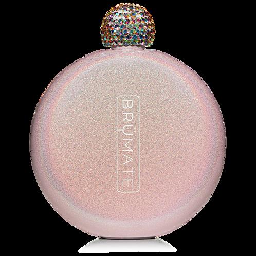 Blush - Glitter Flask