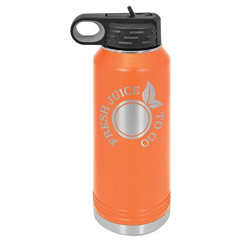 Polar Camel Water Bottle - Orange