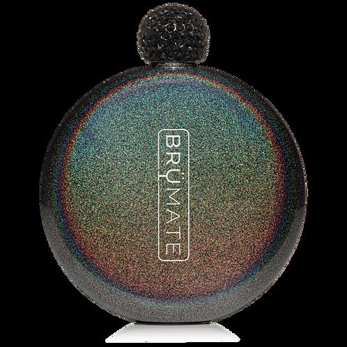Charcoal - Glitter Flask