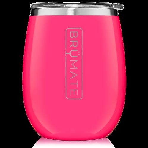 Neon Pink - Uncork'd Wine Tumbler