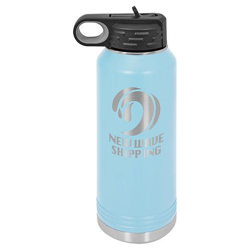 Polar Camel Water Bottle -Light Blue