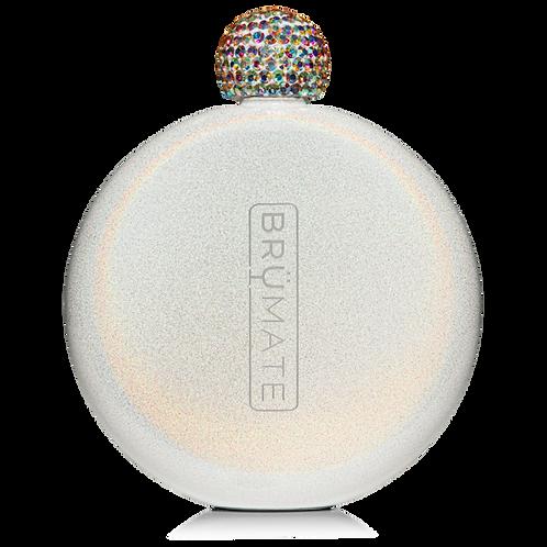 Ice White - Glitter Flask