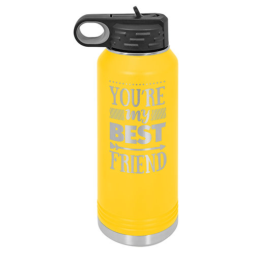 Polar Camel Water Bottle -Yellow