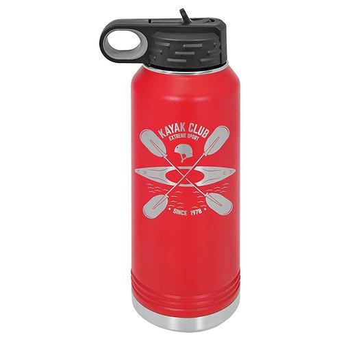 Polar Camel Water Bottle -Red