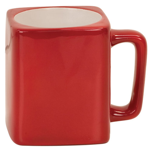8 oz Square Ceramic Mug