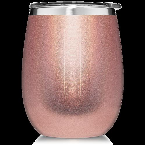 Glitter Rose Gold - Uncork'd Wine Tumbler