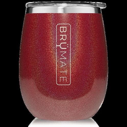 Glitter Ruby - Uncork'd Wine Tumbler