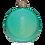 Thumbnail: Peacock - Glitter Flask