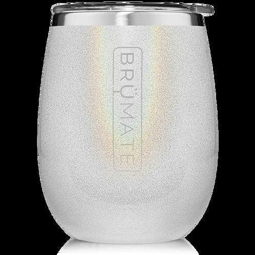 Glitter White - Uncork'd Wine Tumbler