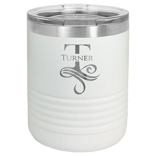 10 oz Vacuum Sealed Stainless Steel Tumbler