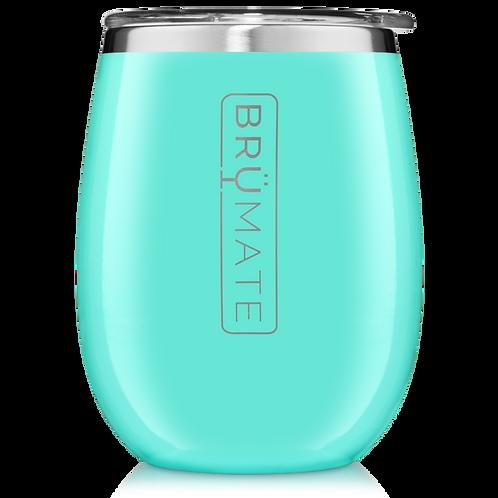 Aqua Blue - Uncork'd Wine Tumbler