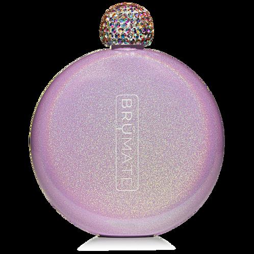 Violet - Glitter Flask