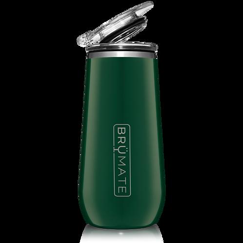 Emerald Green - Champagne Flute