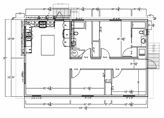 Franklin Mirrored Floor Plan
