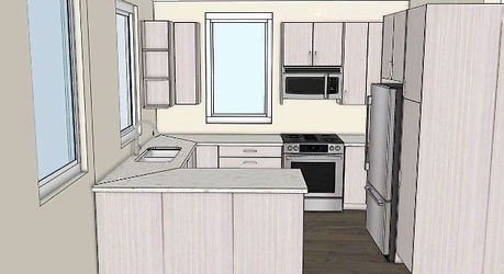 digital grantham kitchen drawing
