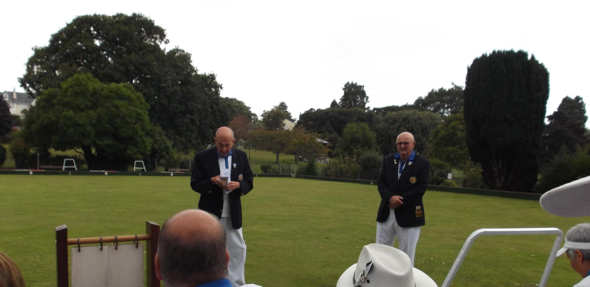 Captain Brian & President John