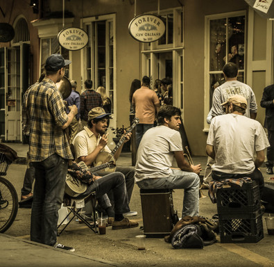 Buskers on Bourbon