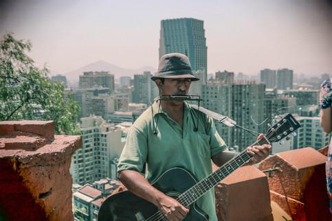 Performance on Santa Lucía Hill