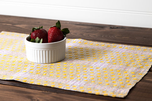 Checked Linen Placemats